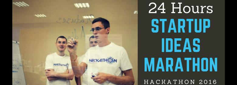 24 hours StartUp Ideas Marathon - Hackathon