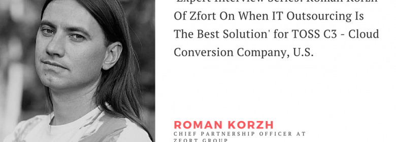 TOSS C3 'Expert Interview Series' with our CPO, Roman Korzh