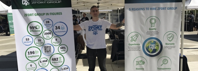 Zfort Group at the Most Awaited Startup Event in California