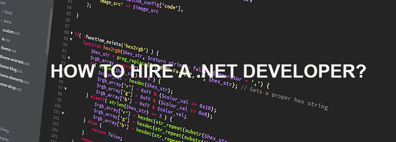 How to Hire a .NET Developer?