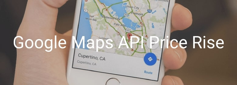 Billing For All Google Maps Api Price Rise