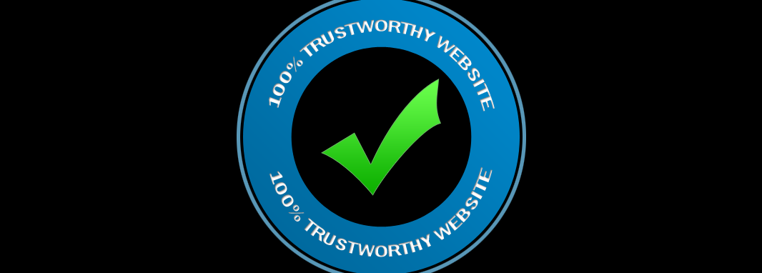 SIGNS OF A TRUSTWORTHY WEBSITE