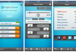 Case Study of a Featured Project — TOEIC Test Simulator