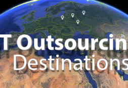 Most Preferred IT Outsourcing Destinations by Date