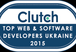 We are Ranked as One of the Top Ukraine-based Developers