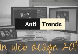 Anti-trends in Web Design 2017