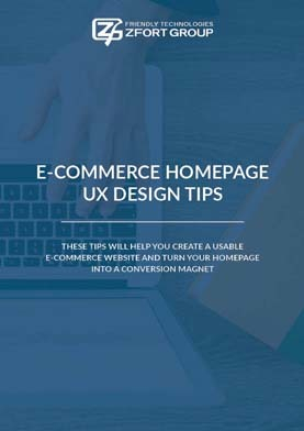 E-commerce Homepage UX Design Tips