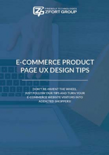 E-commerce Product Page UX Design Tips
